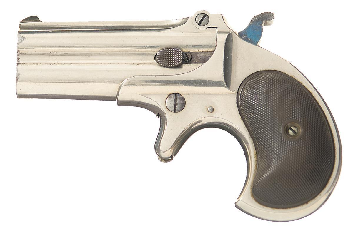 Remington Over Under Double Barrel Derringer