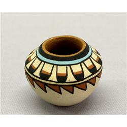 Vintage Miniature Jemez Pottery By Fragua