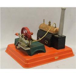 Vintage MAR Miniature Steam Engine Model