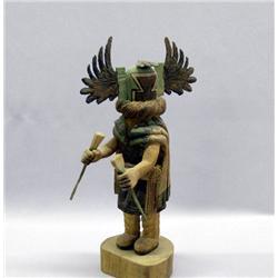Vintage Hopi Crow Mother Kachina By R Jose