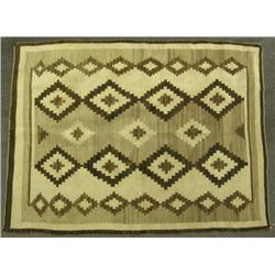 1930s Navajo Natural Dye Rug