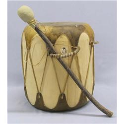 Taos Drum With Beater