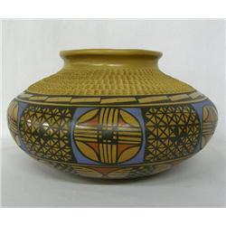 Mata Ortiz Polychrome Bowl by Jesus Tena