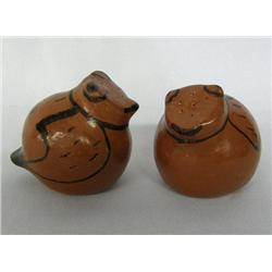 1957 Papago Bird Salt & Pepper Shakers