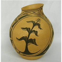 Jemez Micaceous Clay Pot Signed A Casiquito