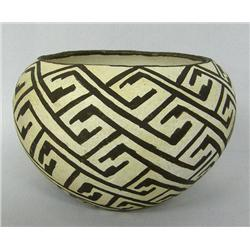 1960s Acoma Traditional Pottery Bowl