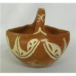 1960s San Juan Pottery Basket