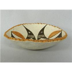 1960s Acoma Pottery Zia