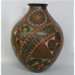 Mata Ortiz Museum Size Pottery Jar by M Bugarini