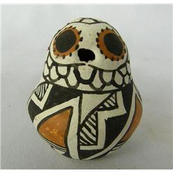 1960s Acoma Pottery Owl