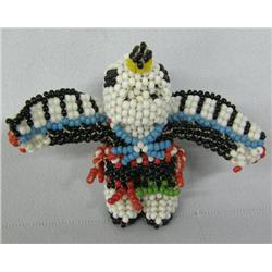 Zuni Fully Beaded Eagle Dancer with Removeable Head