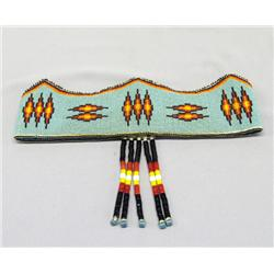 Sioux Indian Princess Beaded Head Band