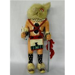 Vintage Wolfman Kachina