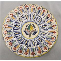 1996 Italian Sanguine Pottery Plate