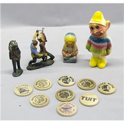 Collection Western/Indian Memorabilia, Toys