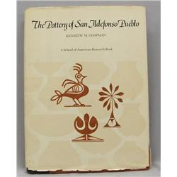 San Ildefonso Pueblo Pottery Book By Chapman