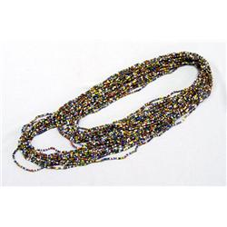 15 Strands of Small, Multi-colors Beads