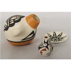 3 Acoma Miniature Pottery