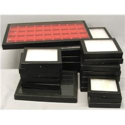 20 Plus Various Size Riker Boxes
