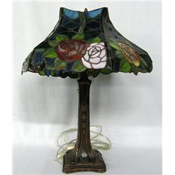 New Floral Stained Glass Lamp