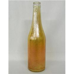 1940s Carnival Glass Canada Dry Ginger Ale Bottle