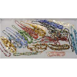 20 Hand Beaded Necklaces By Kills Thunder
