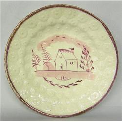Vintage Lusterware Plate
