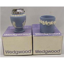 Wedgewood Lighter & Cigarette Holder