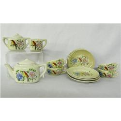 Japanese Vintage 14 Piece Childs Tea Set