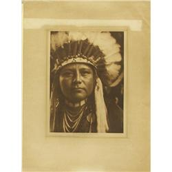 Vintage Photographic Print Nez Perce By Curtis