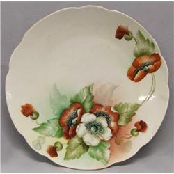 1921 Hand Painted Plate Signed Lola Alexander