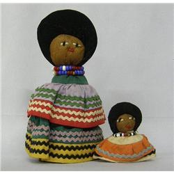 2 Seminole Indian Dolls