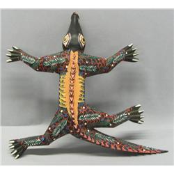 Alebrije Wooden Lizard By Francisco H Cruz