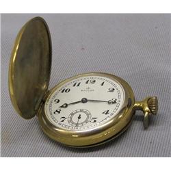 Vintage Swiss Baylor Hunter Case Pocket Watch