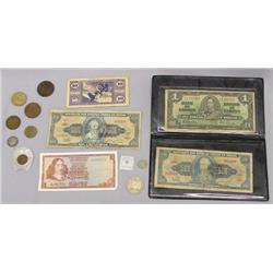 Collection of Foreign Bills and Coins