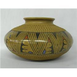 Mata Ortiz Pottery Bowl by Jesus Tena