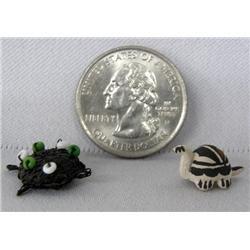 2 Micro Miniature Navajo Turtles
