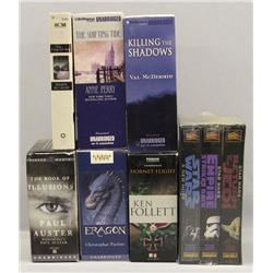 6 Books On Tape & Star Wars Trilogy Movies