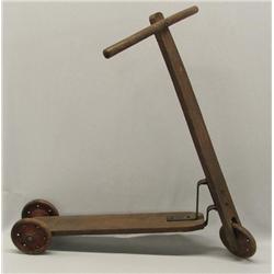 Antique Austrian 3 Wheel Scooter