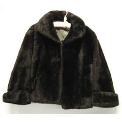 Mouton Fur Ladies Jacket, Size S