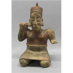 Pre-Columbian Style God Pottery