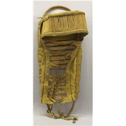 Vintage San Carlos Apache Papoose Cradle Board