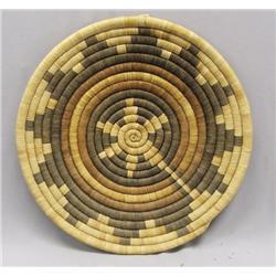 Vintage Hopi Flat Basket
