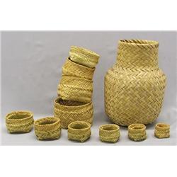 11 Tarahumara Baskets