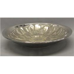 Mexican Mariposa Cast Aluminum Sunflower Bowl