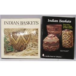 2 Books on Native American Indian Baskets