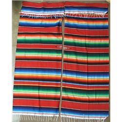 Pair of Serape Curtains