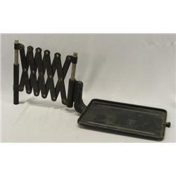 Antique Metal Phone Scissors Shelf