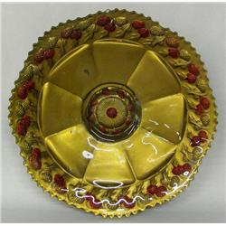 Vintage Goofus Glass Bowl