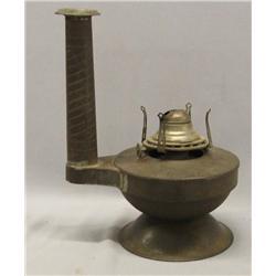 Vintage White Flame Light Co Kerosene Lamp
